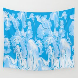 Water flowers Wall Tapestry