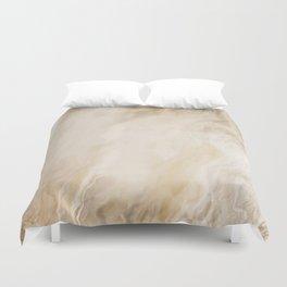 Brown Turquiose Marble texture Duvet Cover