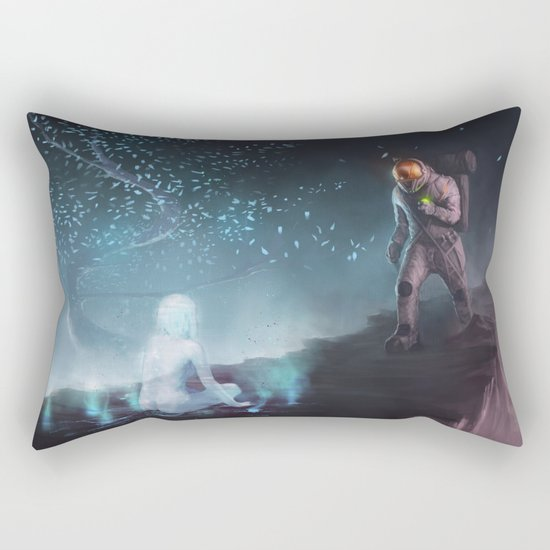 Space Dreams Rectangular Pillow