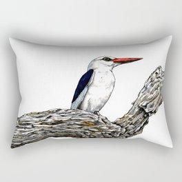 WOODLAND KINGFISHER Rectangular Pillow