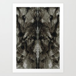 Rorschach Stories (8) Art Print