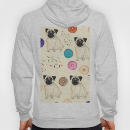 Pugs and donuts sweet sprinkles Hoody