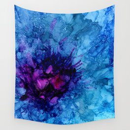 Amethyst Freeze Wall Tapestry
