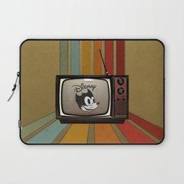 fallout Dismay cartoon on vintage tv Laptop Sleeve