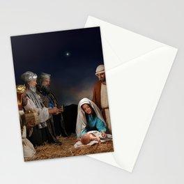 Holiday Christmas Nativity Stationery Cards