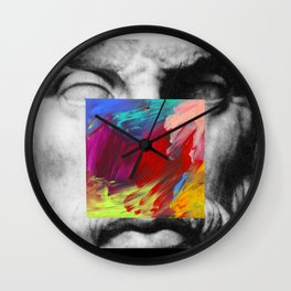 Untitled Composition 474 Wall Clock
