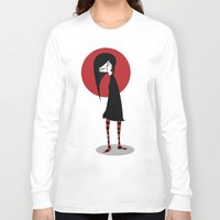 mia wallace Long Sleeve T-shirts featuring Mia by Volkan Dalyan