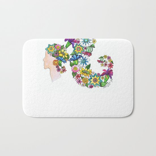 Blooming Bath Mat