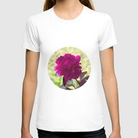 dc T-shirts featuring DC Flowers by Danielle