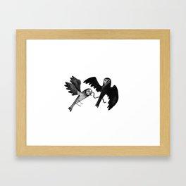 fight fight fight Framed Art Print