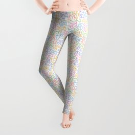 Dog Pattern | Puppy Pet Dog Owner Breed  Leggings