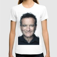 robin williams T-shirts featuring Robin Williams by lauramaahs