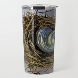 DISTRESSED NESTING SHELL Travel Mug