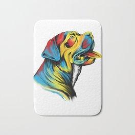 Awesome Cane Corso Gift Italian Mastiff Design Bath Mat