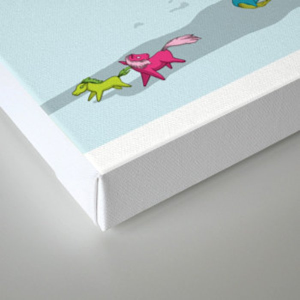 Unicorn: Destroyer of Ponies! Canvas Print