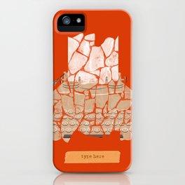 Type Here iPhone Case