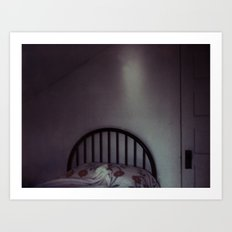 homemade study no. 12 (bed in shadow) Art Print