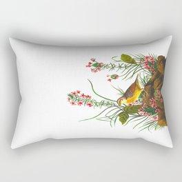 Yellow-winged Sparrow Rectangular Pillow