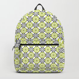 Cog Buttons - Green and Grey Backpack