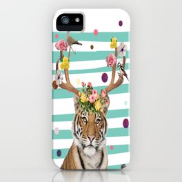 Queen Of The Jungle iPhone Case