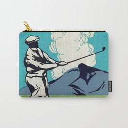 Japanese Golfer Vintage Matchbox Label Poster Carry-All Pouch