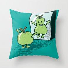 I wish I were... Throw Pillow