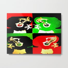 Marla Singer Fight Club Pop Art Painting Metal Print