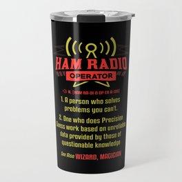 Ham Radio Operator - Gift Travel Mug