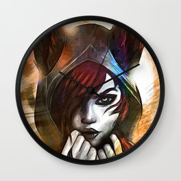 League of Legends XAYAH Wall Clock