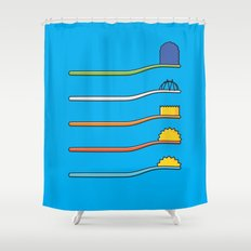 The Simpsodynes Shower Curtain