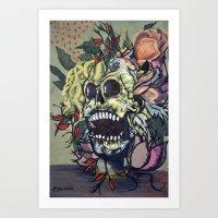 Abandoned Art Art Print