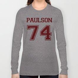 Sarah Paulson Varsity Long Sleeve T-shirt