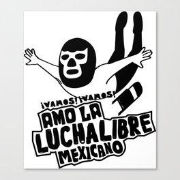 La Luchador2 Canvas Print