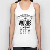 woods Tank Tops featuring WOODS by Thiago Bianchini