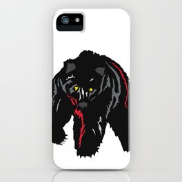 Grizzly Bear Rumbling by the River iPhone Case
