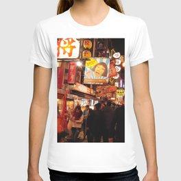 Night Vibe in Dotonburi, Osaka T-shirt