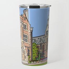 Cambridge struggles: Pembroke College Travel Mug