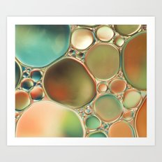 Pastel Abstraction #2 Art Print