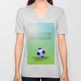 Soccer Unisex V-Neck