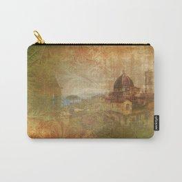 Italian Manuscript Carry-All Pouch