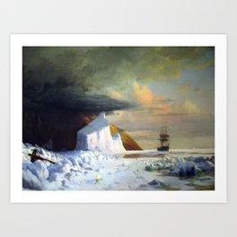 William Bradford Arctic Summer Art Print