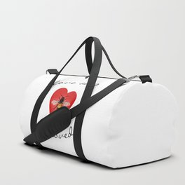 Love and Bee Loved Duffle Bag