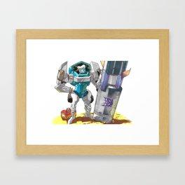 Bomb Disposal Tailgate Framed Art Print