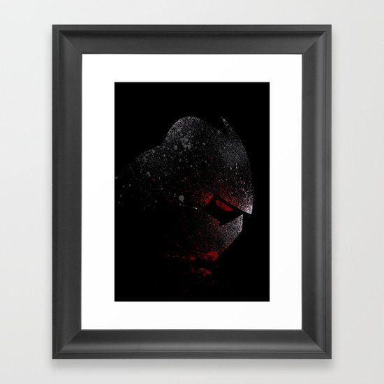 Foot Clan Master Framed Art Print