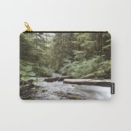 And The Water Gorged The Wood Carry-All Pouch