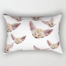 Fennec Foxes Rectangular Pillow