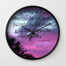 Wind of Change Wall Clock