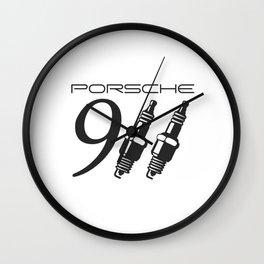 Porsche 911 Wall Clock