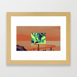 How Things Could've Been Framed Art Print