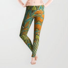Floral Tropical pattern Leggings
